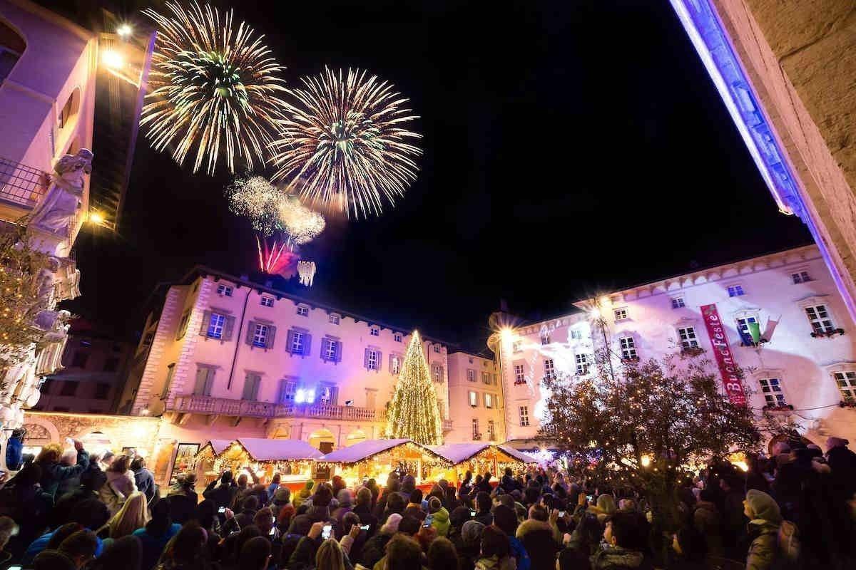New Year in the square in Desenzano del Garda