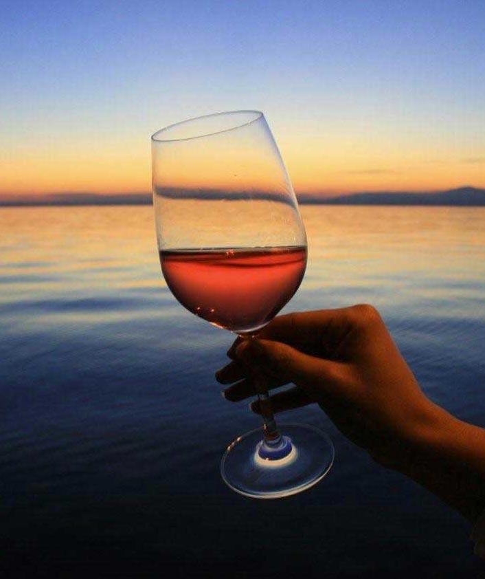 Wein und Gardasee Wein